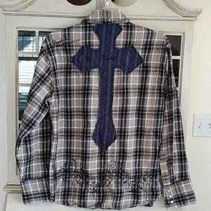 Fender Custom Shop Men's Flannel Shirt